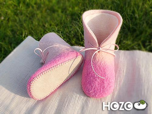 粉紅訂製鞋