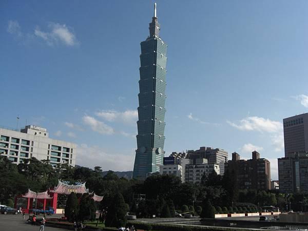 臺北101  攝自國父紀念館