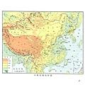 社會第9冊 中華民國地形圖