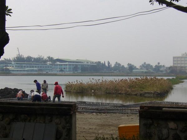 安平小砲台附近