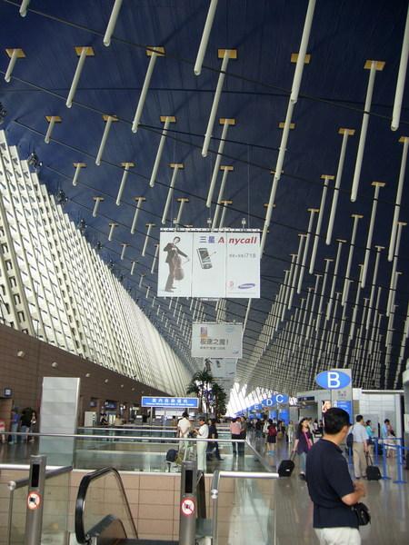 浦東機場內部