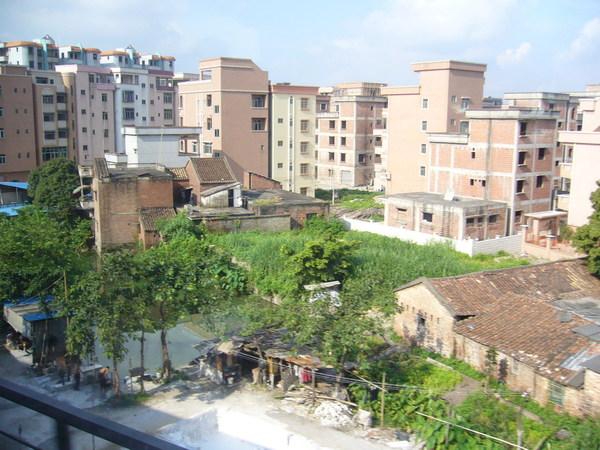 這裡的農村大概很快就要都市化了