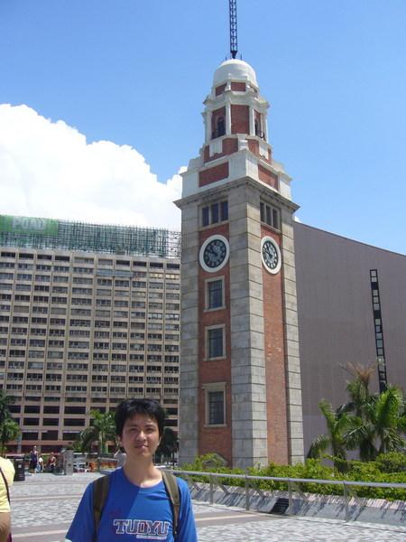 我與九廣東線舊鐘樓