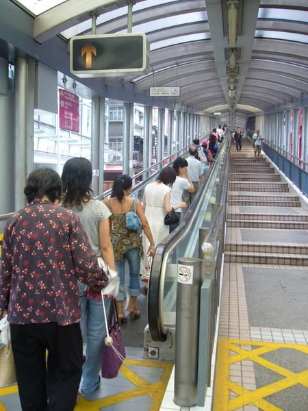 太平山半山電扶梯