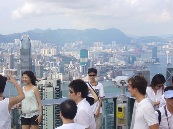 遊人超多,果然是有名盛景