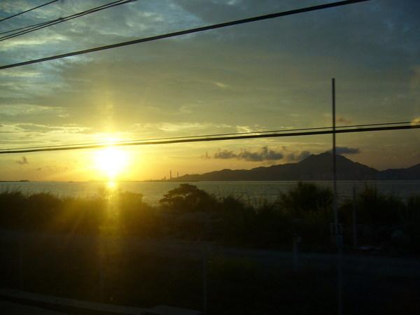 香港的夕陽