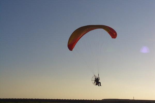 秋茂園的滑翔機