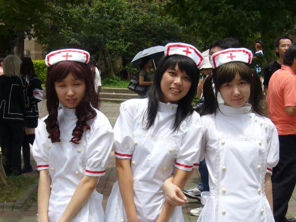 謝謝這群護士妹妹