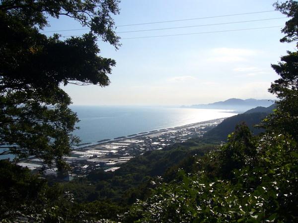 久能山看海