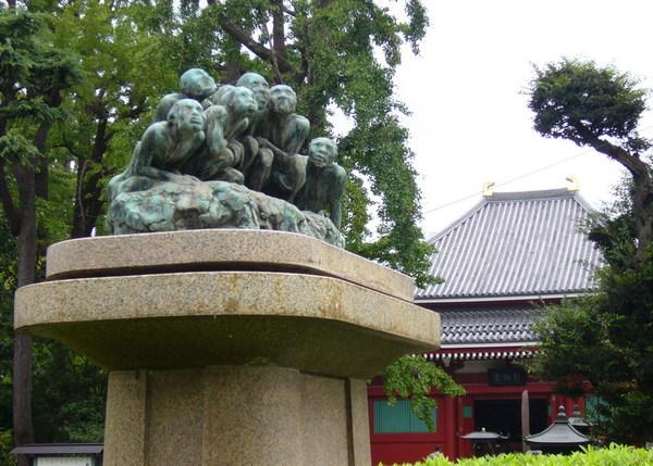 淺草寺的猴子像