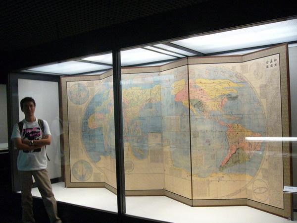 地圖大屏風