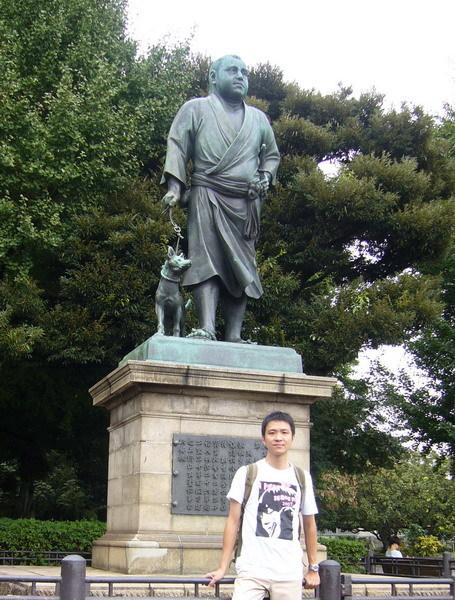 上野公園的西鄉隆盛像