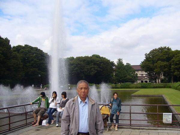 東京國立博物館前噴水池