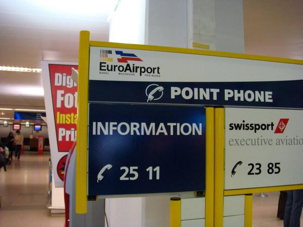 Basel機場居然叫「Euro Airport」