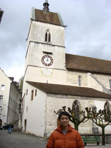 Saint Ursanne教堂