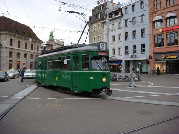 Basel的有軌電車