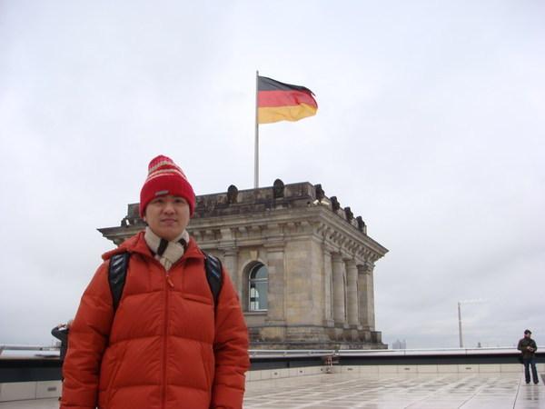 我在德國國會上