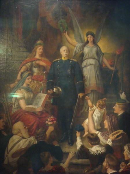 軍國主義繪畫之一
