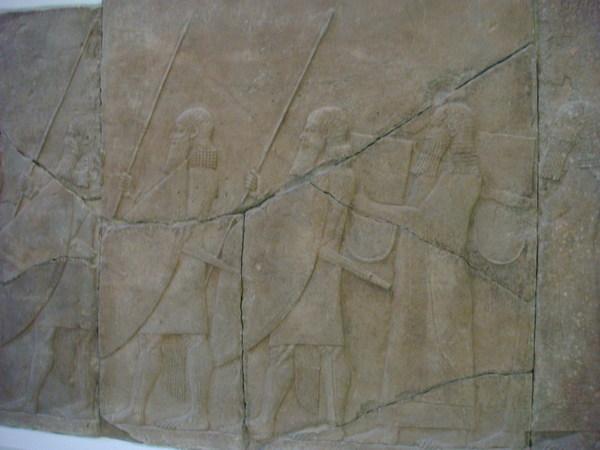 古代西亞的雕刻