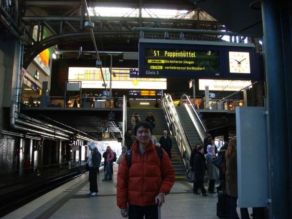 漢堡中央車站,再拍