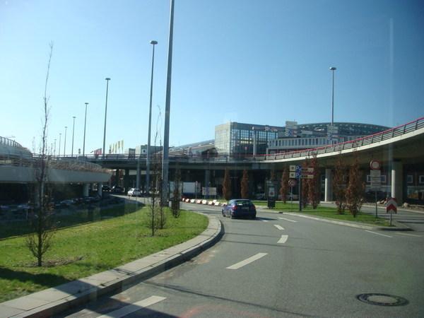 看見了漢堡機場