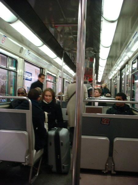 巴黎地鐵的車廂