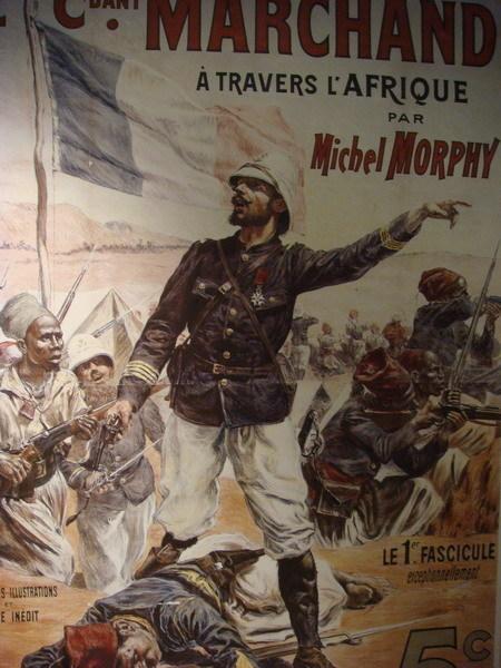 法國軍官帶著殖民地部隊往前衝