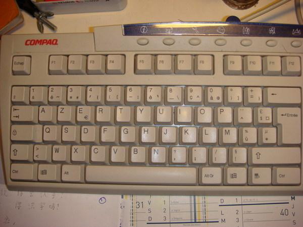 法國的鍵盤