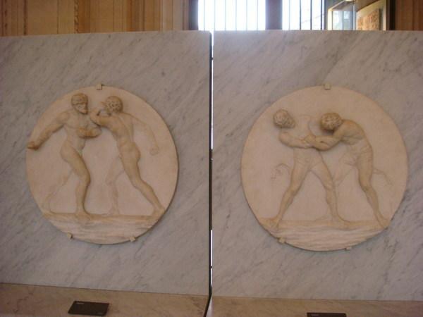羅浮宮義大利雕塑區