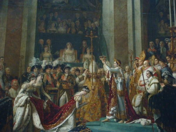 拿破崙的加冕