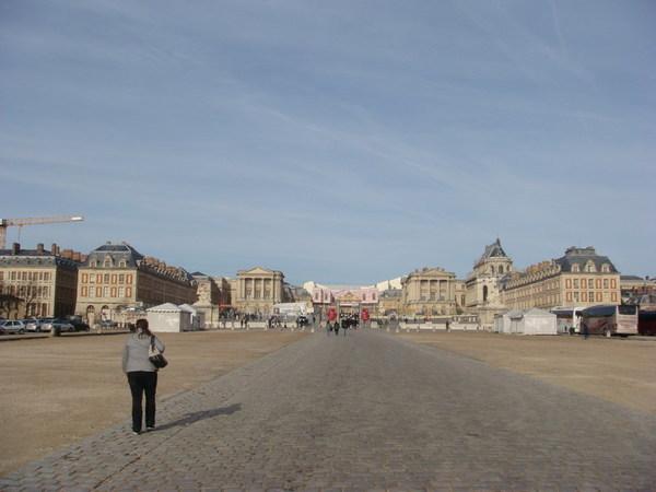 凡爾賽宮大廳正面