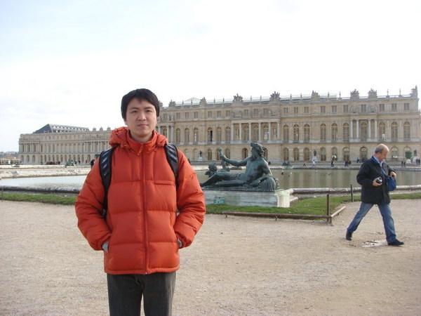 在凡爾賽正廳後方