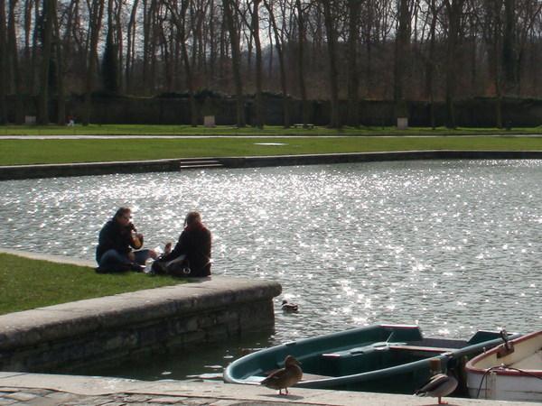 凡爾賽宮的運河