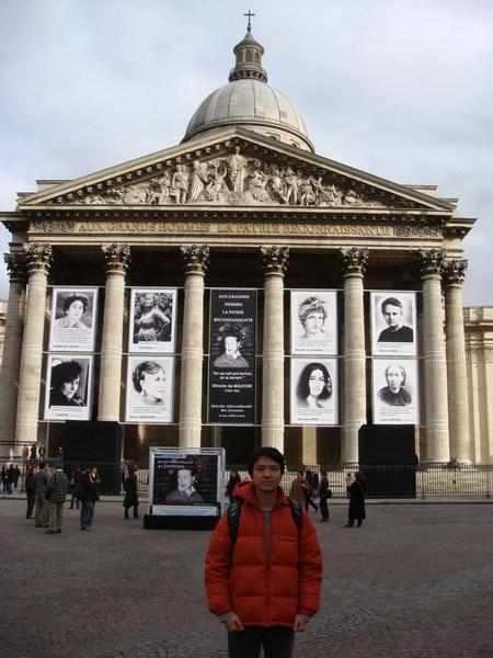 去萬神廟(Panthéon)