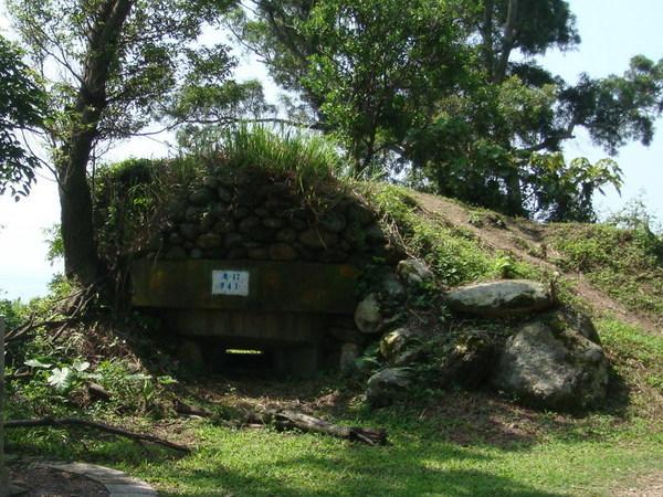美崙山頂的碉堡