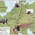 2008歐遊地圖
