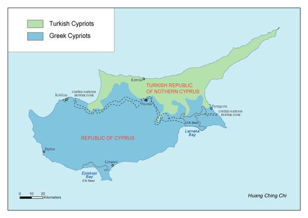Cyprus的族群
