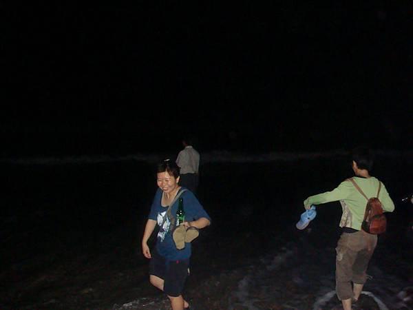墾丁沙灘夜遊