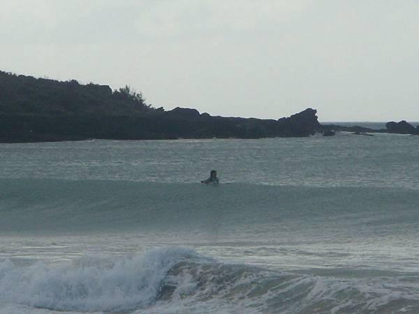 有人在衝浪