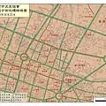 2008年臺南市文史協會古街巡禮地圖