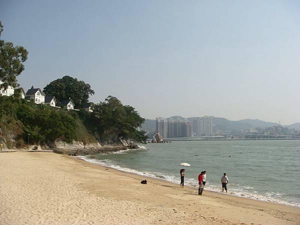 鼓浪嶼的海灘