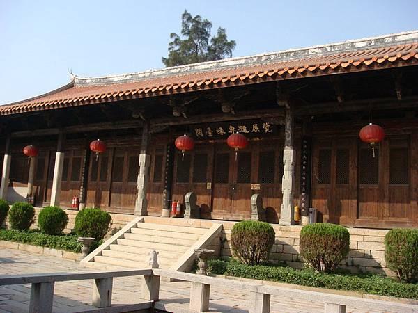 閩台緣館本來只是天后宮後殿一個專題展覽