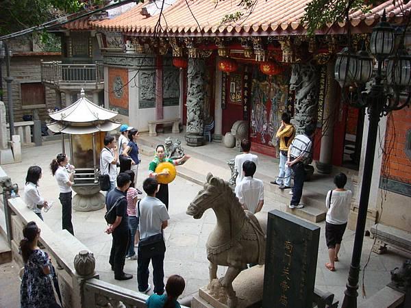 這是南門旁的關帝廟
