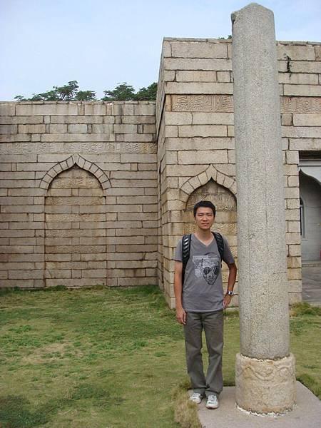 清淨寺的柱子