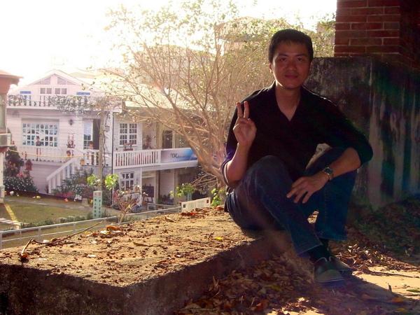 對面是臺南大學的學人招待所