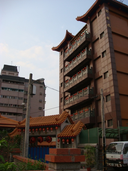 修禪院隱藏在大樓裡