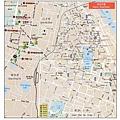 河內市區越文/中文對照地圖