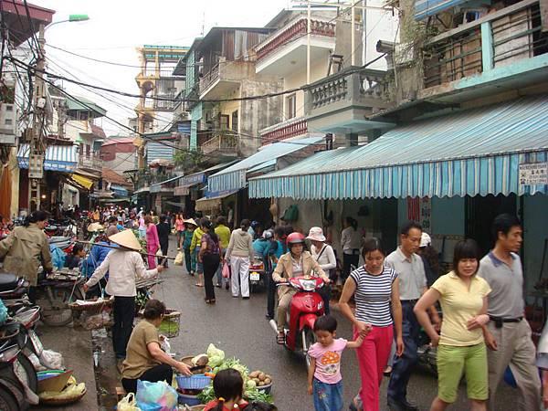 舊城區的傳統市場