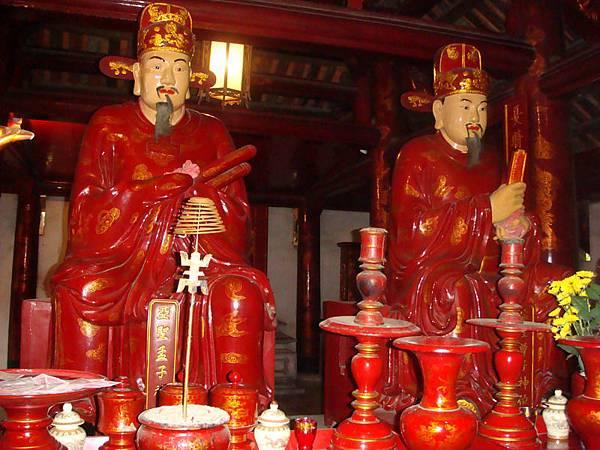 越南的孟子跟曾子形象