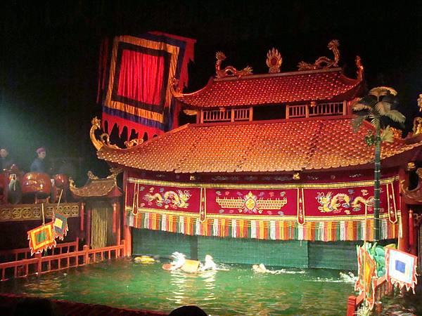 水上木偶戲院的舞台